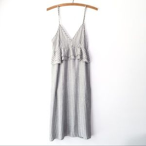 NWOT Lavender Field Stripe Dress